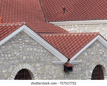 roof of ancient roman house