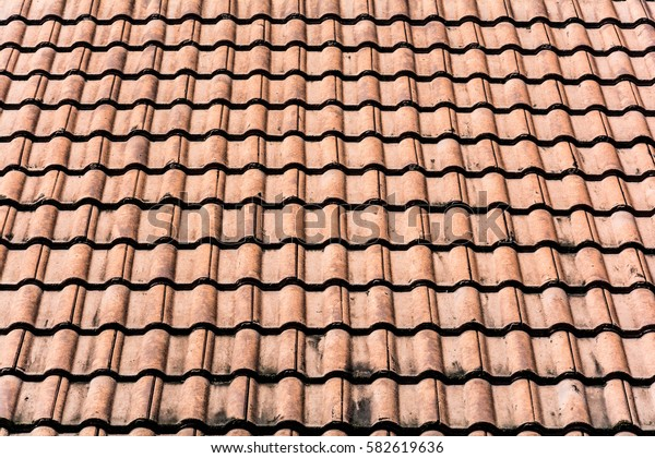 roof brick and pattern background