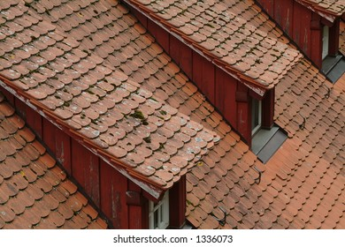 Roof from a Building in Merseburg, Germany.