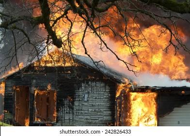 Roof Burning