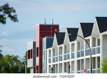 roof of a Canadian apartment building