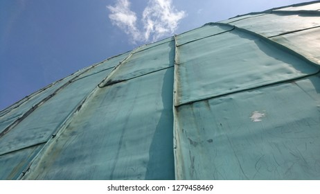 The roof of the Cathedral of Our Lady and St. Vojtech in Esztergom