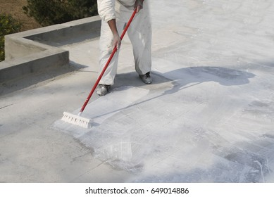 Roof Coating Broom