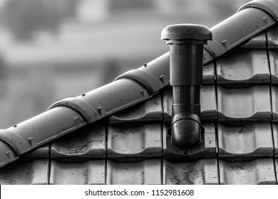 Roof with deduction