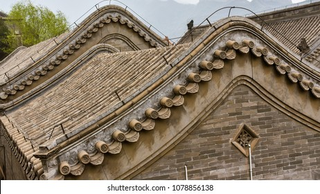 Roof design, ancient Chinese architecture.