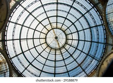 Roof details, galleria vittorio emanuele