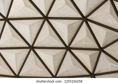 Roof glass pattern.