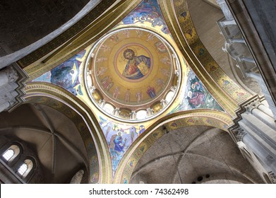 Roof of the Holy Sepulchre, Jerusalem,