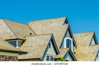 Roof of a house.
