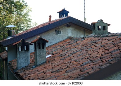 roof of a house agricultural Lombard