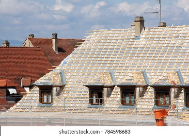 Roof Insulation technique on old house renovation