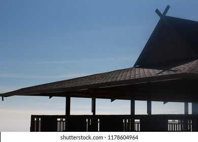 The Roof of Joglo's House Located at