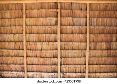 Roof made from palm's leaves