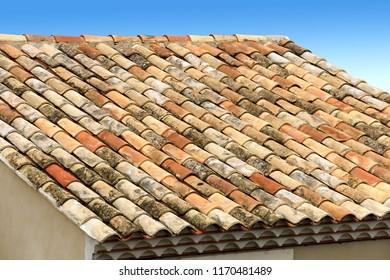 Roof in Mediterranean tiles