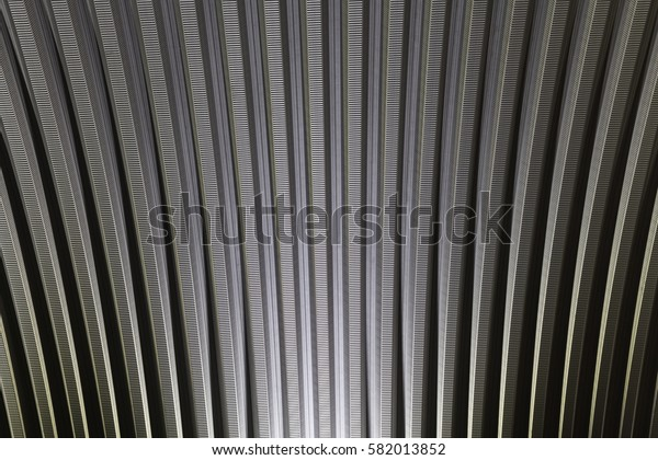 Roof metal background.