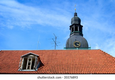 The roof in the Old Town