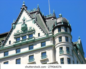 Roof on the Plaza Hotel, New York City