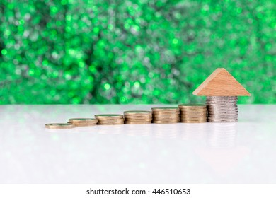 Roof on top of coins: real estate portfolio