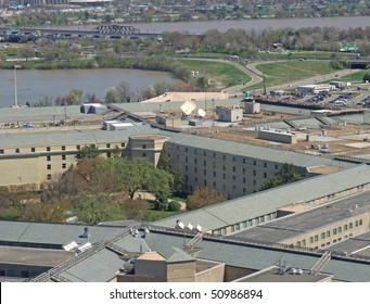 roof of Pentagon, aerial view
