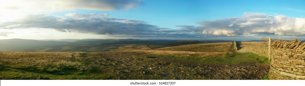 The roof of Pen-y-Ghent