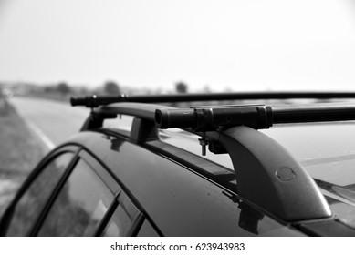 roof rack on estate car