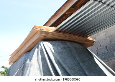 Roof Sean Steel Corrugated House Material