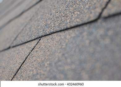 Roof shingles - close up