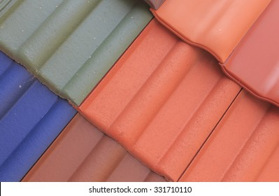 roof shingles. flexible texture tiles for roofing/colored flexible texture tile roof house closeup