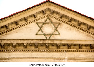 The Roof Of The Synagogue and Judaism Symbol