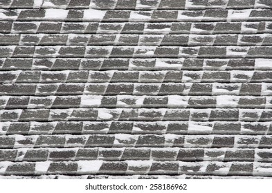 Roof Texture with Snow
