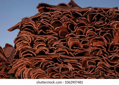 roof tiles to mound
