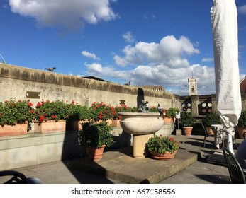Roof top at Uffizi Gallery, Florance, Italy
