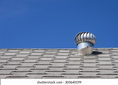 Roof top ventilation system for heat control of commercial building