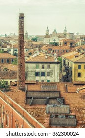 roof top view of buildings in Venice