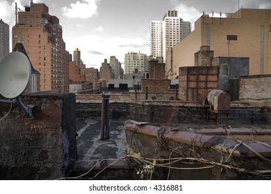 Roof tops in the city