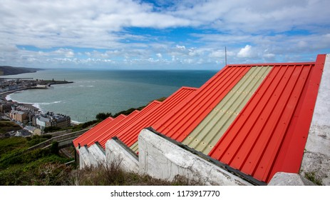 Roof Tops over Aberystwyth
