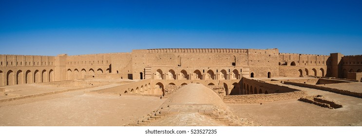 Roof View of Al-Ukhaidir Fortress near Karbala, Iraq
