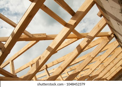 Roof Rafters Images, Stock Photos & Vectors | Shutterstock