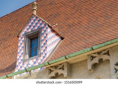 roofs of ancient buildings of Bratislava, capital city of Slovakia - Shutterstock ID 1516505099