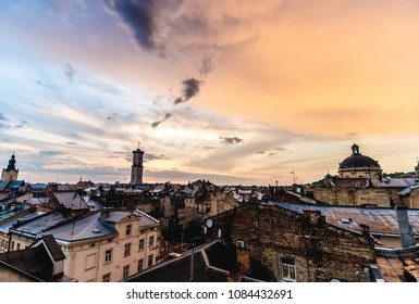 The roofs of the old city