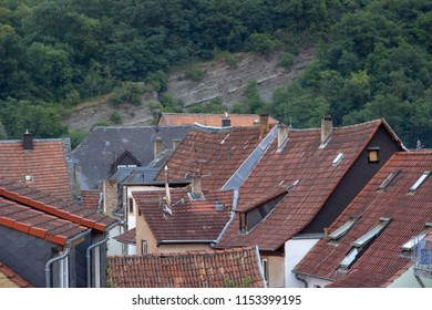 roofs of old town in Germany