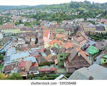 the roofs of Sighisoara