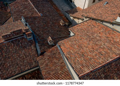 roofs with terracotta tiles