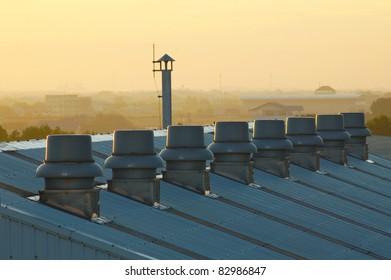 Rooftop exhaust fan