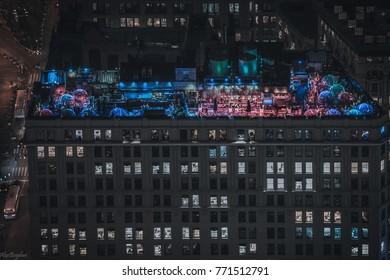 Rooftop Igloos New York