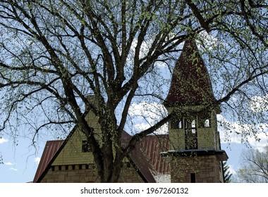 Rooftop of local church in Durango, Colorado.