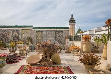 Rooftop at Medina de Tunis, Tunisia