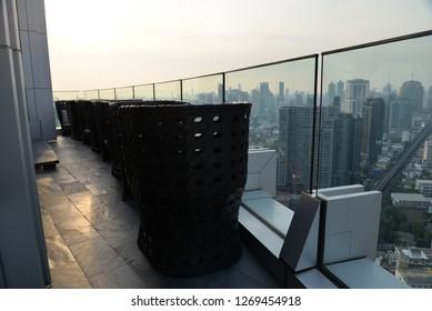 Rooftop Table, Bangkok, Thailand