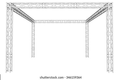 Rooftop using truss system