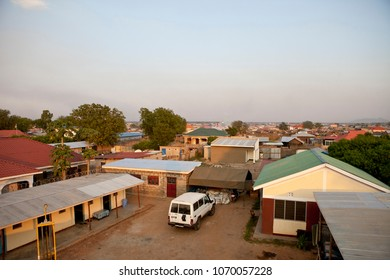 Rooftop view of Juba, capital of South Sudan.
